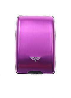 Porte-carte violet TRU VIRTU pour homme