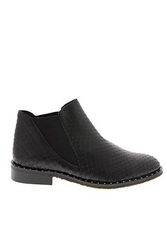 Bottines/Boots noir HE SPRING pour femme