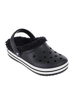 Chaussons/Pantoufles noir CROCS pour garçon