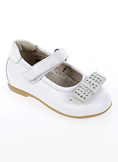 Ballerines blanc CIAO pour fille