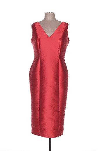Robe mi-longue rouge FELY CAMPO pour femme