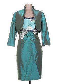 Veste/robe bleu LINEA RAFFAELLI pour femme