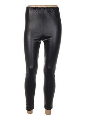 Pantalon casual noir BY SWAN pour femme