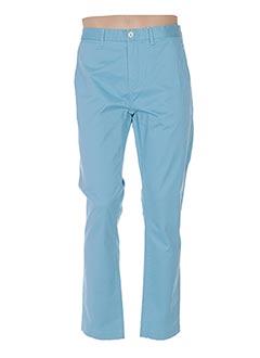Pantalon casual bleu VICOMTE ARTHUR pour homme
