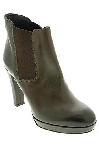 Bottines/Boots marron ALBERTO FERMANI pour femme