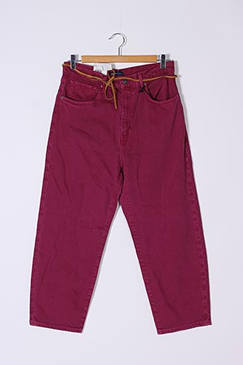 Pantalon casual rose LEVIS pour femme