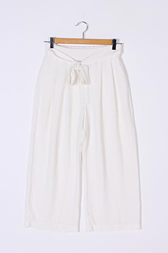Pantalon 7/8 blanc EIGHT pour femme