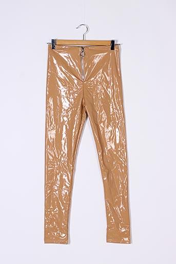 Pantalon casual beige CHERRY KOKO pour femme