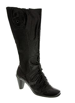 Bottes noir BRONX pour femme