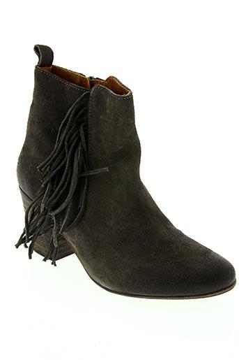 Bottines/Boots gris COPENHAGEN pour femme