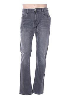 Jeans coupe slim gris TRUSSARDI JEANS pour homme