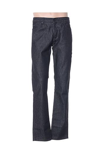Jeans coupe slim noir HUGO BOSS pour homme