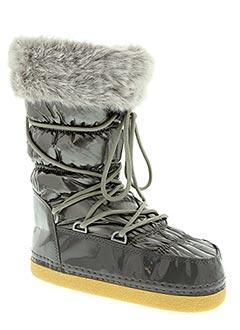 Bottines/Boots gris ELITE pour femme