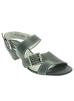 Sandales/Nu pieds gris FIDJI pour femme