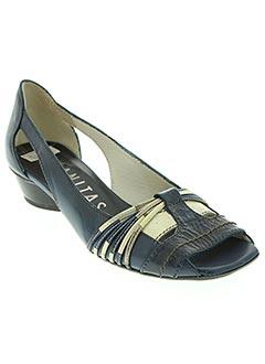 Sandales/Nu pieds bleu HISPANITAS pour femme