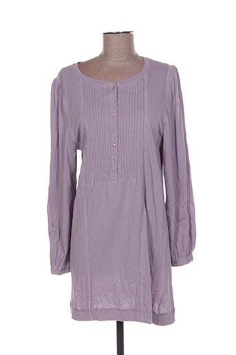 Tunique manches longues violet DIABLESS pour femme