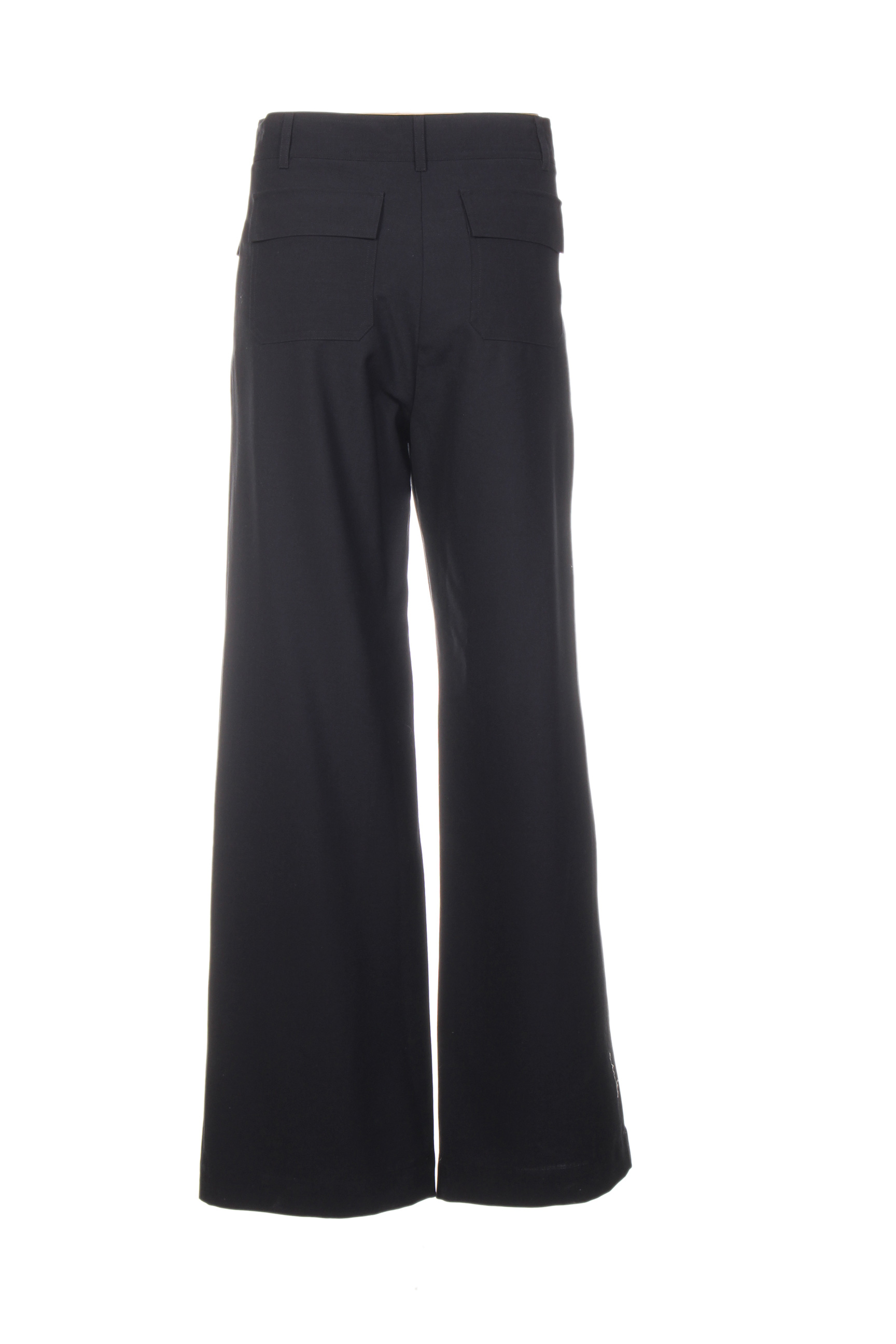 Sessun Pantalons Citadins Femme De Couleur Bleu En Soldes Pas Cher 1398765-bleu00