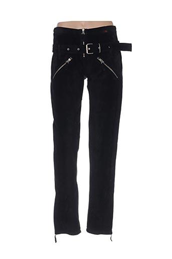 Pantalon chic noir BASES pour femme