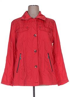 Veste casual rouge KIRSTEN pour femme