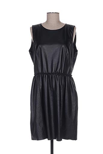 Robe courte noir CORTEFIEL pour femme