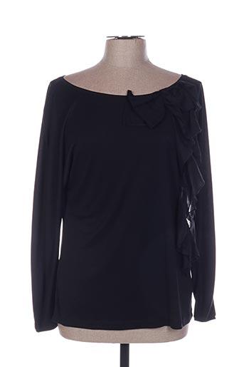 T-shirt manches longues noir CARAMELO pour femme