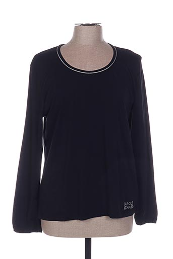 T-shirt manches longues noir CAROLE RICHARD pour femme