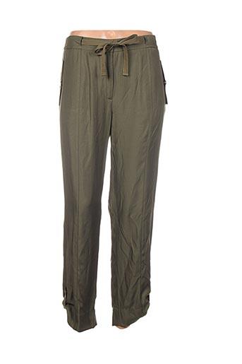 Pantalon 7/8 vert CORTEFIEL pour femme