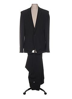 Costume de ville noir LIGNE PRIVÉE pour homme