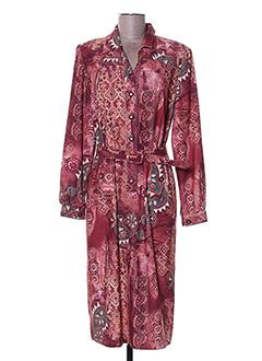 Robe mi-longue rouge FRANCOISE DE FRANCE pour femme