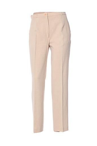 Pantalon chic beige BREAL pour femme