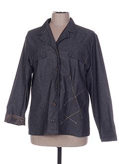 Veste chic / Blazer gris BRIGITTE SAGET pour femme