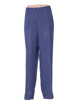 Pantalon casual bleu WEINBERG pour femme