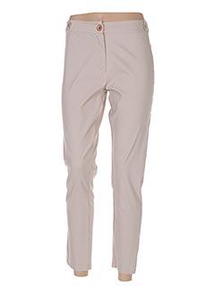 Pantalon 7/8 beige ALAN RED pour femme