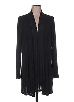 Veste casual noir TELMAIL pour femme