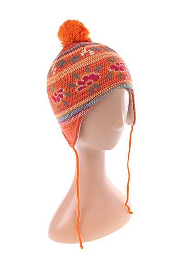 Bonnet orange MARY-KATE AND ASHLEY pour fille