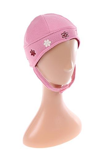 Bonnet rose COMPLICES pour fille