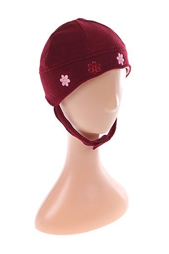 Bonnet rouge COMPLICES pour fille