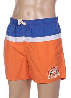 Short orange CAMPS UNITED pour homme
