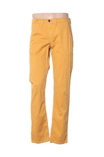 Pantalon casual jaune CAMBRIDGE pour homme