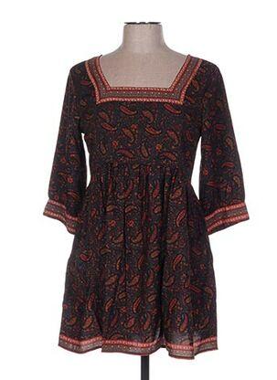 Robe courte orange ALLER SIMPLEMENT pour femme