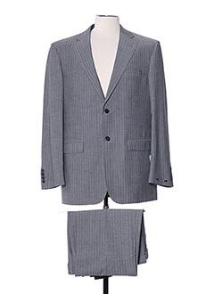 Costume de ville gris LUCAS DELLI pour homme