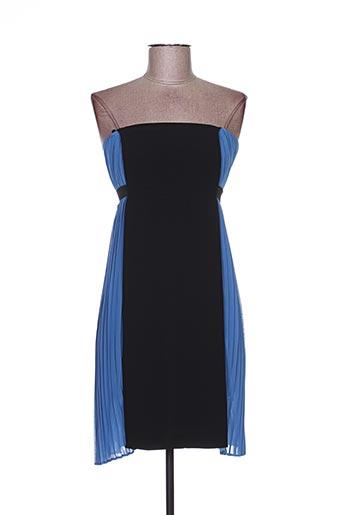 Robe courte bleu ANNA RITA N pour femme