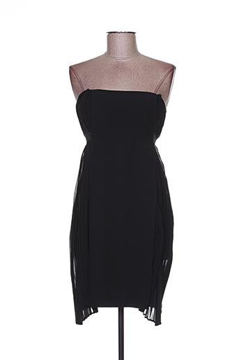 Robe courte noir ANNA RITA N pour femme