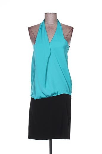 Robe mi-longue bleu ANNA RITA N pour femme