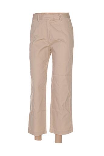 Pantalon chic beige D/BORN pour femme