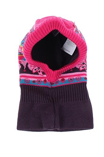 Bonnet violet MAXIMO pour fille