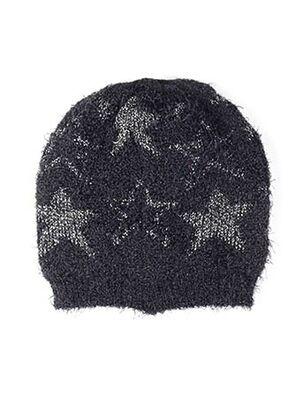 Bonnet noir MAXIMO pour femme