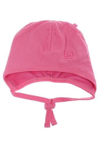 Bonnet rose MAXIMO pour enfant