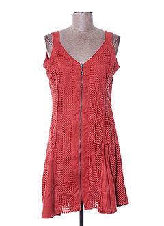 Robe courte rouge ARELINE pour femme