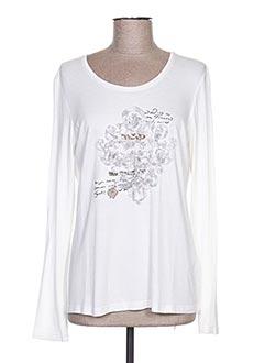 Produit-T-shirts-Femme-JUST WHITE
